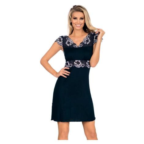 Luxusní dámská košilka Helen tmavě modrá