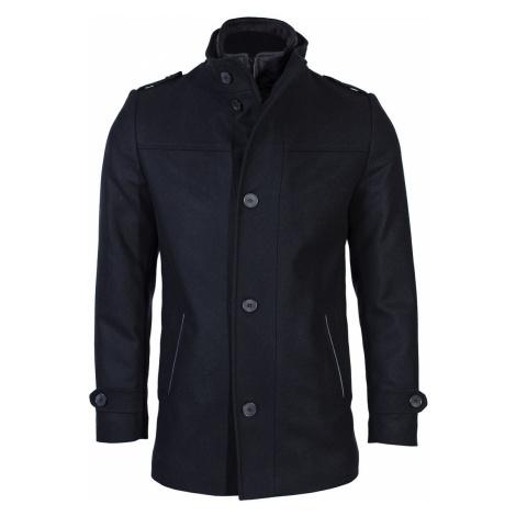 Pánský vlněný kabát Octave černý Zapana
