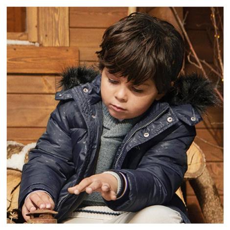 Zimní chlapecká bunda 4476 | černá Mayoral