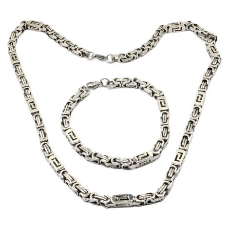 Sam's Artisans Sada šperků Double L chirurgická ocel ISM005