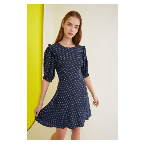 Trendyol Navy Blue Pointy Dress