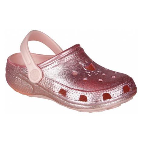 Dětské pantofle COQUI FROGGY - světle růžová Litex