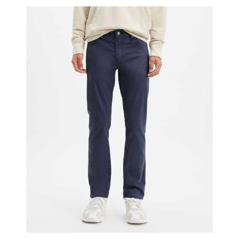 Kalhoty Levi´s® 511 Slim Baltic Navy Sueded pánské tmavě modré