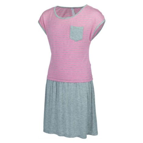 Lewro CHIMERA růžová - Dívčí šaty