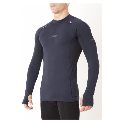 Pánské funkční tričko s dlouhým rukávem UP IRON-IC 1.0 - černé Intimidea