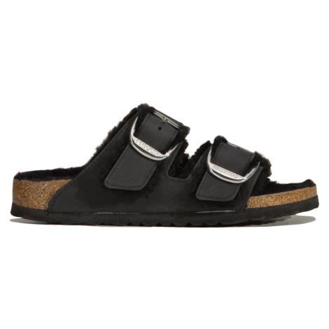 Pantofle Birkenstock ARIZONA BB SHEARLING FL černá