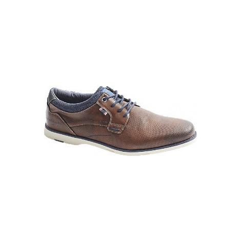 Hnědá společenská obuv Tom Tailor