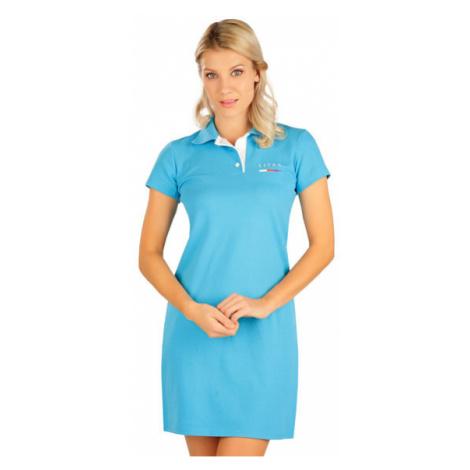 Dámské šaty s krátkým rukávem Litex 5B304 | tyrkysová