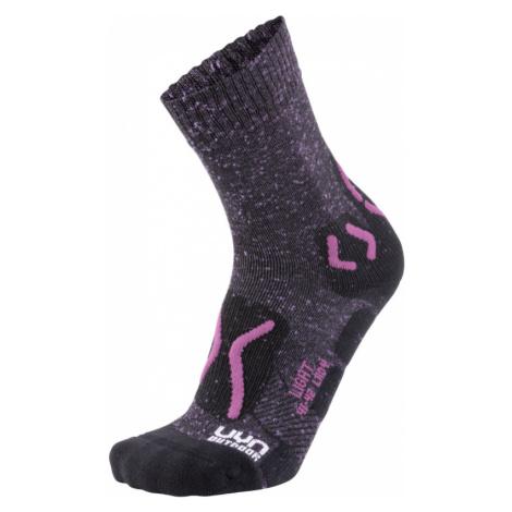 Dámské turistické ponožky UYN Light Outdoor Socks Violet