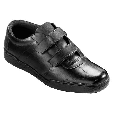 Blancheporte Vycházkové boty z kůže černá