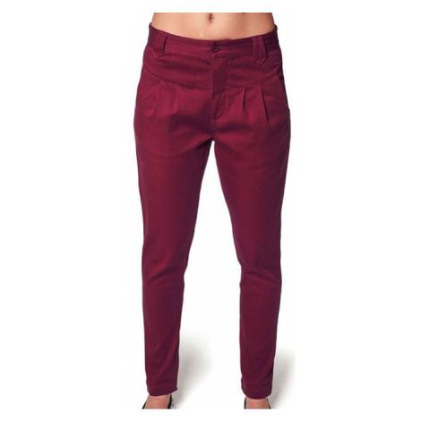 Kalhoty Horsefeathers Cookie ruby