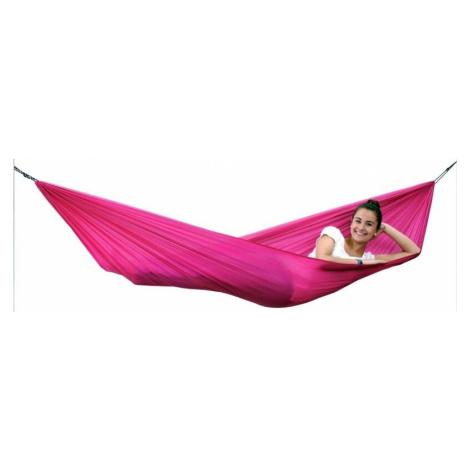 Sada AMAZONAS® Travel Set - hamaka - houpací síť a příslušenství – růžová