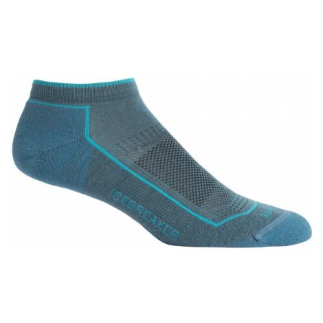 Dámské ponožky ICEBREAKER Wmns Lifestyle Cool Lite Low Cut, Blue Spruce Icebreaker Merino