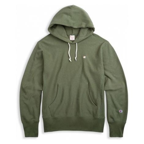 MIKINA CHAMPION Hooded - zelená