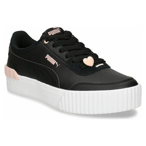 Černé dámské tenisky s růžovými prvky Puma
