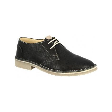 Leonardo Shoes 127 DOLLARO NERO Černá