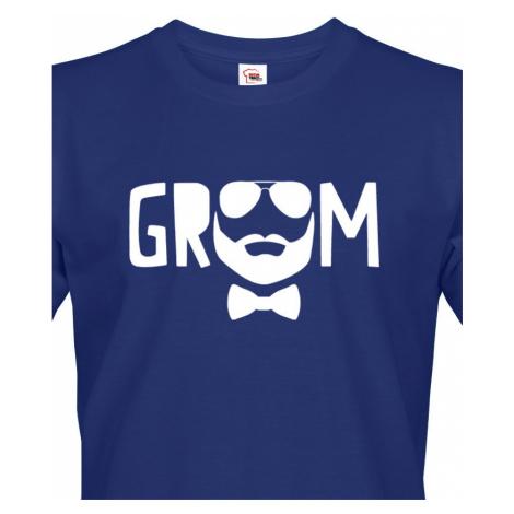 Pánské tričko pro ženicha Groom - ideální tričko na rozlučku