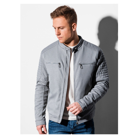 Ombre Clothing Men's mid-season quilted jacket C461