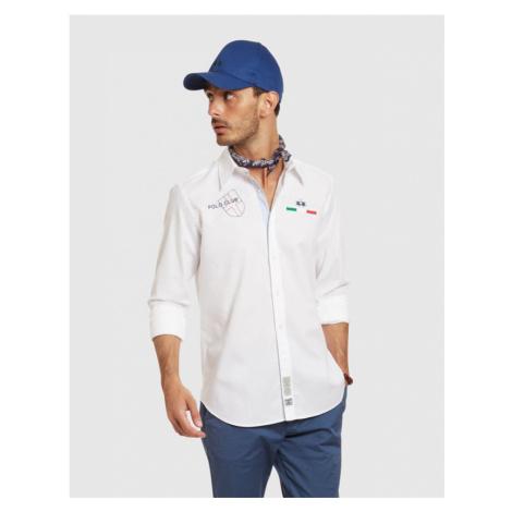 Košile La Martina Man Shirt L/S Oxford - Bílá