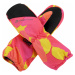 ALPINE PRO HANGO Dětské zimní rukavice KGLP009407PA carmine rose