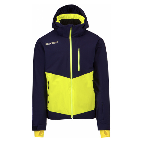 Lyžařská bunda Descente SPENCER Żółty|tmavomodrá