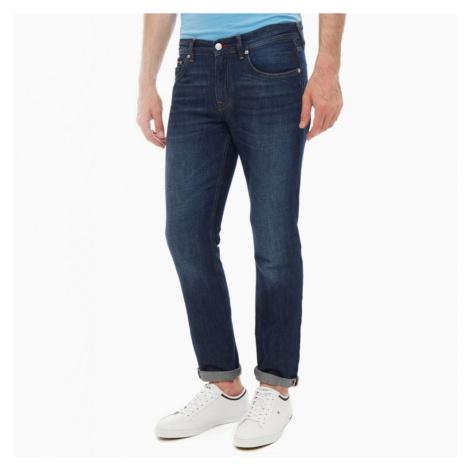 Tommy Hilfiger pánské tmavě modré džíny Denton