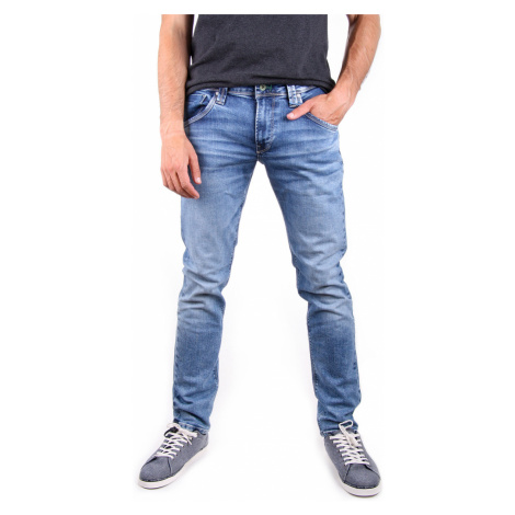Pepe Jeans pánské modré džíny Zinc