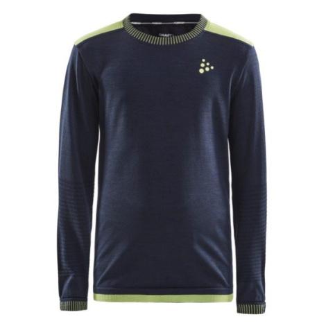 Funkční tričko Craft Fuseknit Comfort Junior - modrá