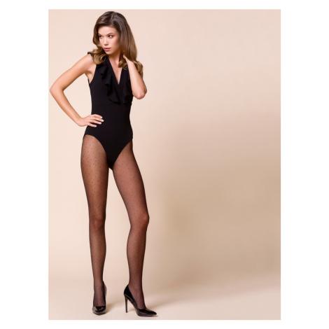 Tenké dámské punčochové kalhoty – vzor NANA-5 černá Gabriella