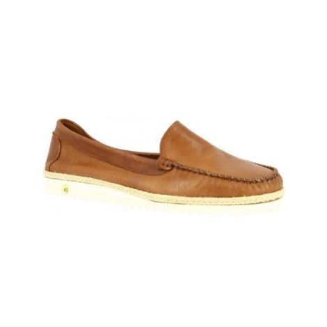 Leonardo Shoes 208 TEX SIGARO Hnědá