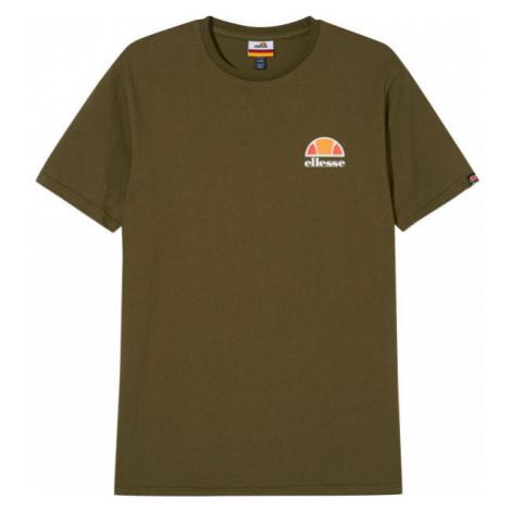 ELLESSE CANALETTO tmavě zelená - Pánské tričko