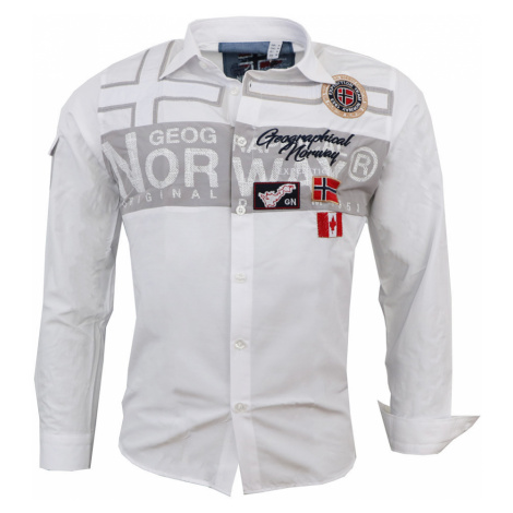 GEOGRAPHICAL NORWAY košile pánská ZADOCK LS MEN 100