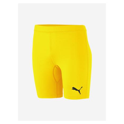 Liga Baselayer Kraťasy dětské Puma Žlutá