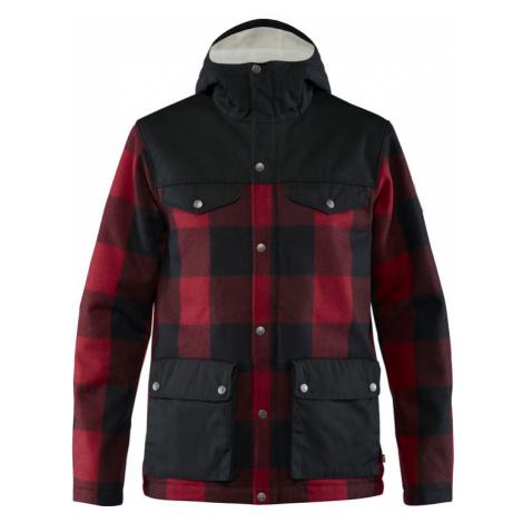 Fjällräven Greenlad Re-Wool Jacket červené F82976-320-550