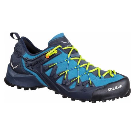 Pánská turistická obuv Salewa MS Wildfire Edge Blue - Yellow
