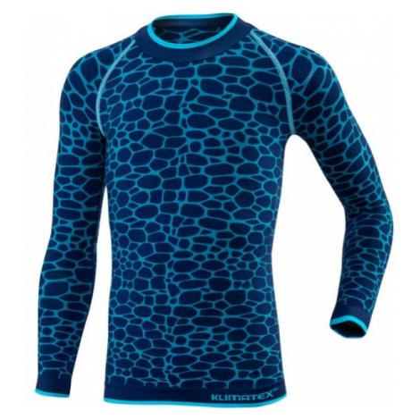 Klimatex DELI modrá - Funkční dětské termo triko