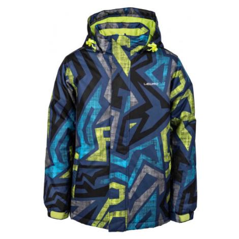 Lewro ANFET modrá - Dětská snowboardová bunda