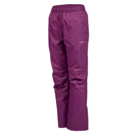 Lewro NAVEA fialová - Dětské zateplené kalhoty