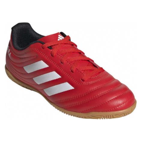 adidas COPA 20.4 IN J červená - Dětské sálovky