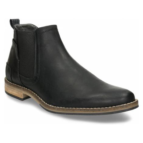 Černá pánská Chelsea obuv kožená Baťa
