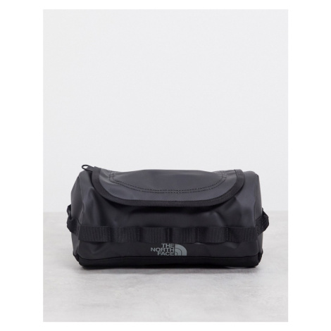 The North Face Base Camp travel canister small wash bag in black