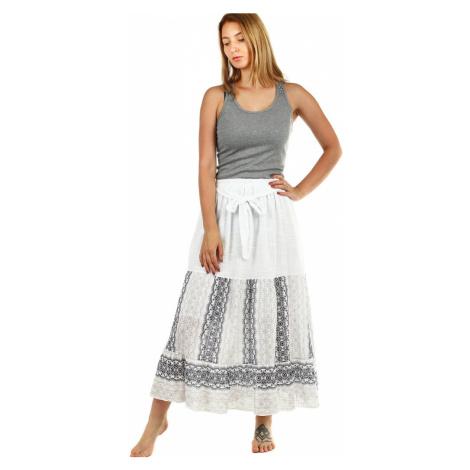 Dámská dlouhá letní sukně s etno vzorem