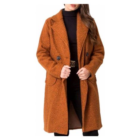 Hnědý lehký teddy kabátek BASIC