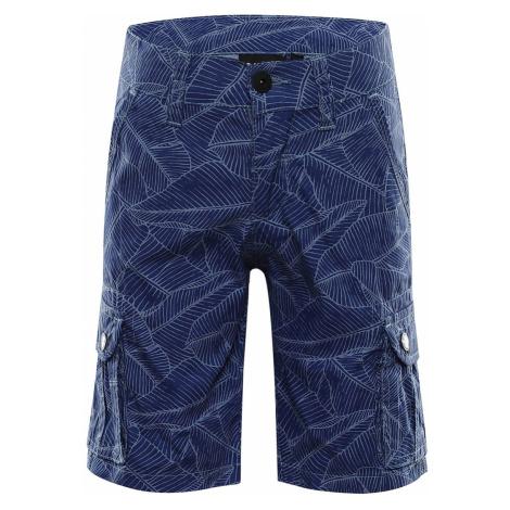 ALPINE PRO SOLEYO Dětské šortky KPAR185669 indigo blue