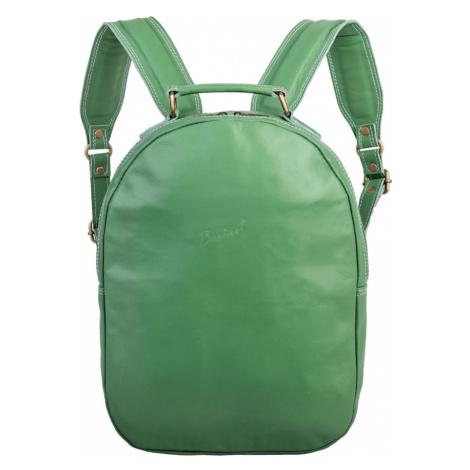 Bagind Maley Jungle - Dámský kožený batoh světle zelený, ruční výroba, český design