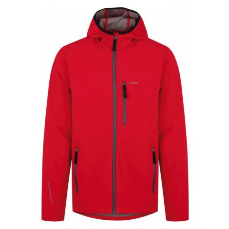 LOAP LENC Pánská softshellová bunda SFM1804G04G červená