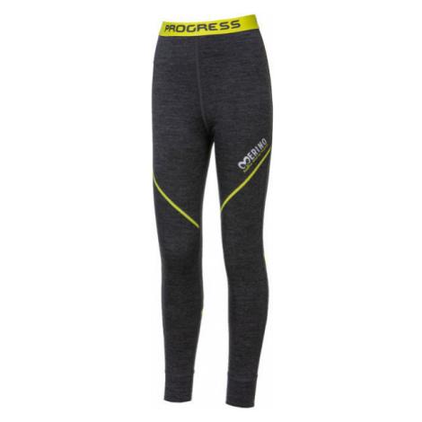 Progress MERINO LT-B - Chlapecké funkční Merino kalhoty