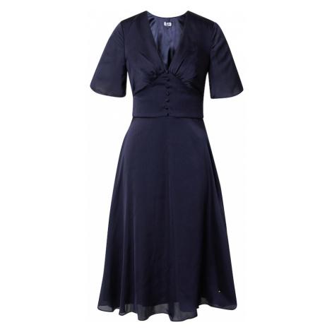 Chi Chi London Šaty 'October' námořnická modř