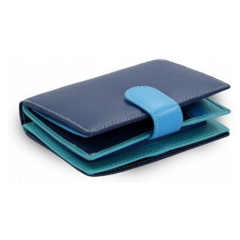 Odstínově modrá dámská kožená peněženka Kendall Arwel