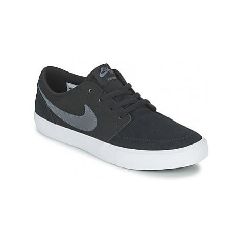 Nike SB SOLARSOFT PORTMORE II Černá